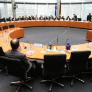 Sitzung des Ersten Bundestags-Untersuchungsausschusses