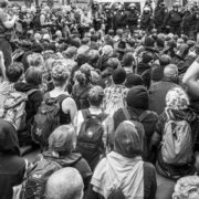 Blockade des Lebensschützer-Innen-Zuges am 19. September 2015 in Berlin-Mitte