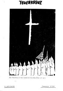 Feuerkreuz wurde von Carsten Szczepanski als KKK Berlin herausgegeben. © apabiz e.V.