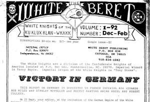 White Beret wurde von Dennis Mahon herausgegeben. © apabiz e.V.